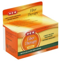 H-E-B Fiber Therapy 500 Mg Tablets