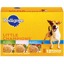 Pedigree Little Champions Pouch Variety Pack Dog Food