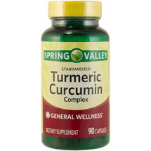 Spring Valley Tumeric Curcumin Complex Dietary Supplement