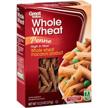 Great Value Whole Wheat Penne Pasta