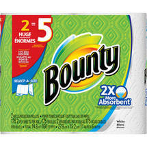 Bounty Select-a-Size Paper Towels Huge Rolls
