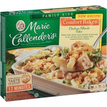 Marie Callenders Creamy Chicken Alfredo With Sun-Dried Tomatoes Meal