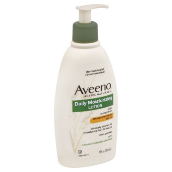 Aveeno® Active Naturals Lotion, Daily Moisturizing with Sunscreen