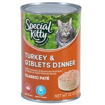 Special Kitty Turkey and Giblets Canned Cat Food