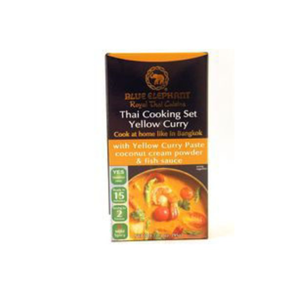 Blue Elephant Yellow Curry Thai Cooking Set