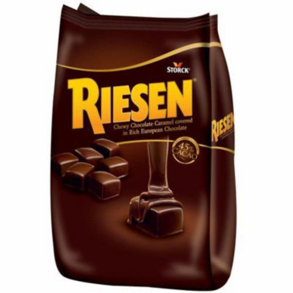 Riesen Chewy Chocolate Covered Caramel candy