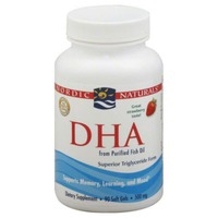 Nordic Naturals DHA, Strawberry, Softgels, Bottle
