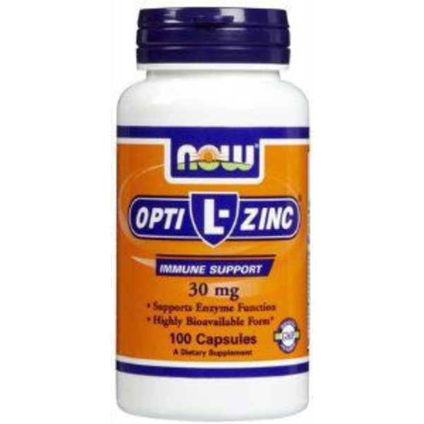 Now Opti Zinc 30 Mg Plus Copper