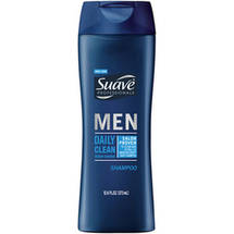 Suave Men's Daily Clean Ocean Charge Shampoo