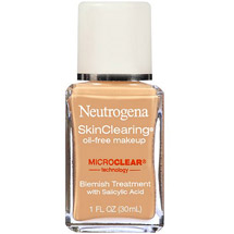 Neutrogena Skinclearing Oil-Free Makeup Medium Beige 80