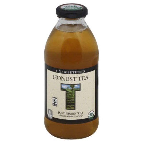 Honest Tea Just Green Unsweetened Tea