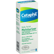 Cetaphil For All Skin Types Daily Facial Moisturizer