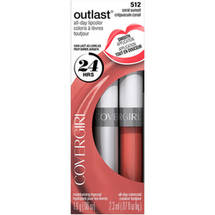 CoverGirl Outlast Lip Color Coral Sunset 512