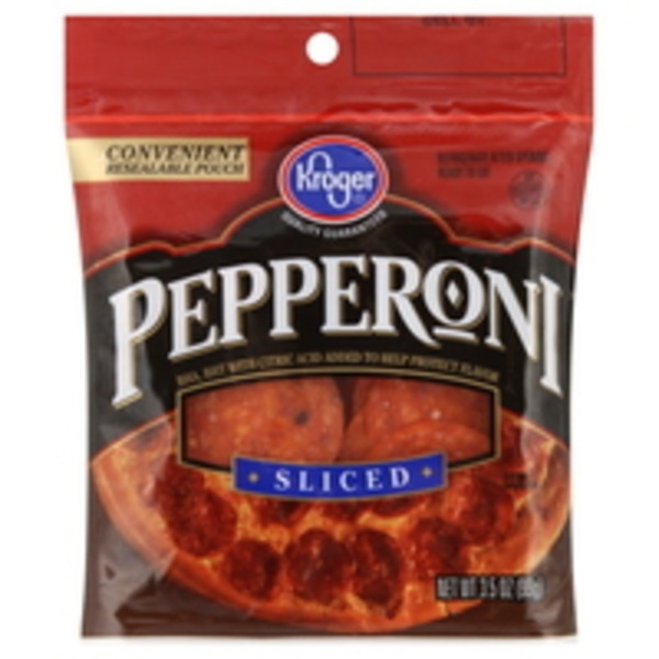 Kroger Sliced Pepperoni