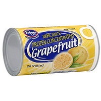 Kroger 100% Grapefruit Juice Frozen Concentrate