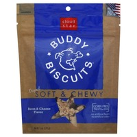Cloud Star Buddy Biscuits Bacon & Cheese Madness Soft & Chewy Dog Treats