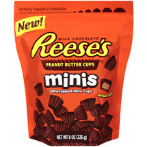 Reese's Minis Unwrapped Peanut Butter Cups