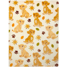 Disney Lion King Plush Printed Blanket