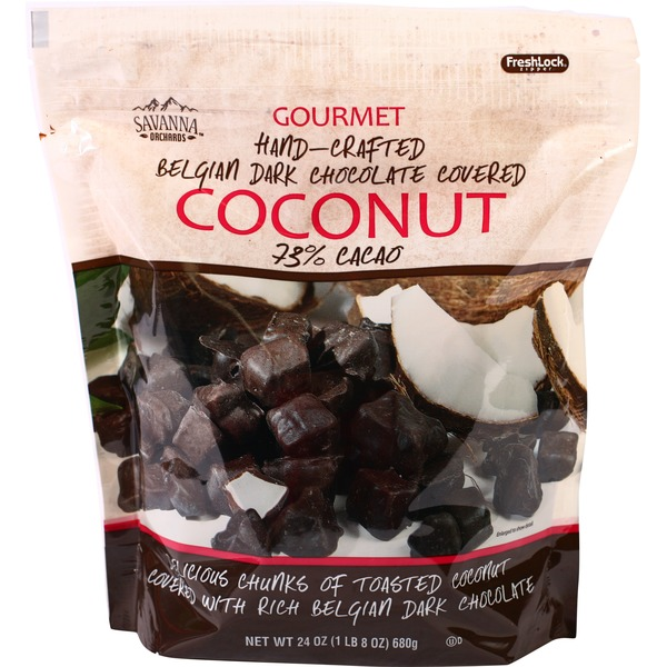 Savanna Orchards Dark Chocolate Covered Coconut