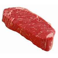 Central Market New York Strip Aged Natural Angus Choice Steak