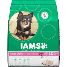 Iams ProActive Health Adult Small and Toy Breed Premium Dog Food