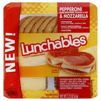 Oscar Mayer Lunchables Lunch Combinations Pepperoni & Mozzarella