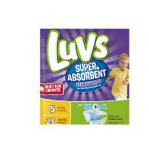 Luvs Super Absorbant Diapers Size 5