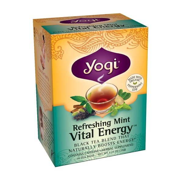 Yogi Refreshing Mint Tea Vital Energy