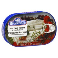 Rugen Fisch Herring Fillets, in Tomato Sauce