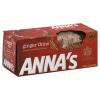 Anna's Ginger Thins Delicate Swedish Cookies