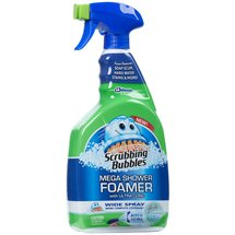 Scrubbing Bubbles Mega Shower Foamer with Ultra Cling Cleaner