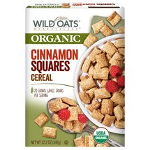 Wild Oats Marketplace Organic Cinnamon Squares Cereal