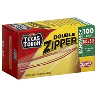H-E-B Tough & Easy Double Zipper Sandwich Bags