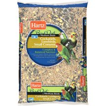 Hartz Cockatiel Medium Bird Food
