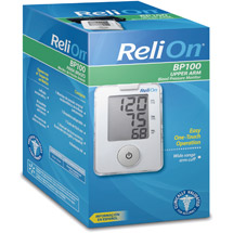 ReliOn Automatic Blood Pressure Monitor