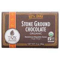 Taza Chocolate 80% Dark Stone Ground Chocolate