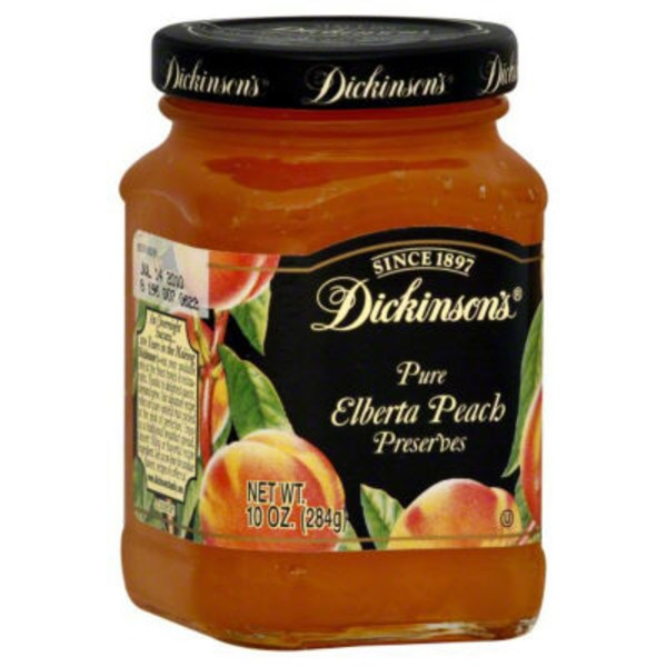 Dickinsons Preserves, Pure Elberta Peach