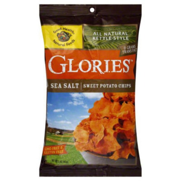Good Health Kettle Chips Sweet Potato Sea Salt