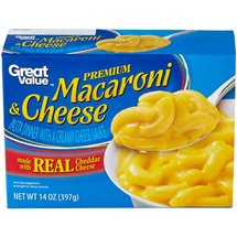 Great Value Premium Macaroni & Cheese Dinner Mix