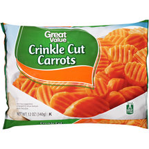 Great Value Crinkle Cut Carrots
