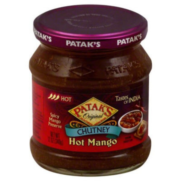 Patak's Tastes Of India Chutney Hot Mango