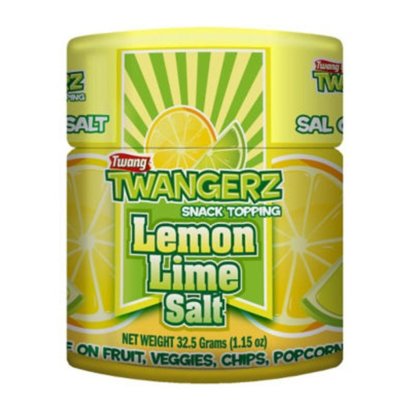 Twang Twangerz Lemon Lime Salt Snack Topping