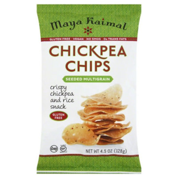 Maya Kaimal Seeded Multigrain Chickpea Chips