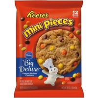 Pillsbury Big Deluxe Reese's Mini Pieces Peanut Butter Cookies