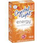 Crystal Light On The Go Energy Peach Mango Drink Mix