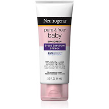 Neutrogena Pure and Free Baby Sunscreen Lotion Broad Spectrum SPF 60+