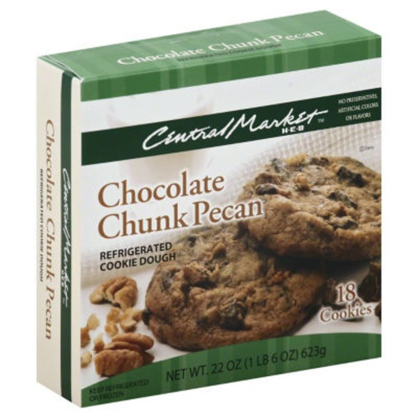Central Market Chocolate Chunk Pecan Cookie Dough