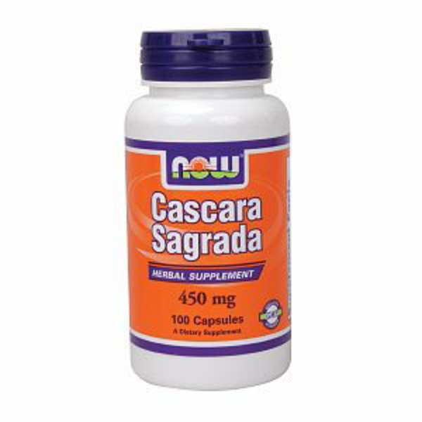 Now Cascara Sagrada 450 Mg Capsules