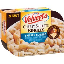Kraft Velveeta Cheesy Skillets Singles Chicken Alfredo