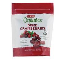H-E-B Organic Dried Cranberries